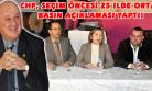 CHP Terör Olaylarını ve Ekonomiyi Değerlendirdi!