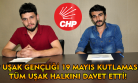 CHP Uşak gençliği'nden tüm Uşak halkına 19 Mayıs çağrısı!