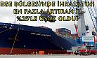 Ege'de ihracatını en fazla artıran il Uşak oldu!
