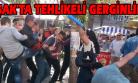 HDP'lilerle, Stand Açmalarına Karşı Çıkan Vatandaşlar Arasında Kavga Çıktı!