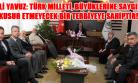 Huzurevi Sakinleri Vali Yavuz'u Ziyaret Etti!
