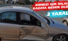 İki Aracın Çarpıştığı Kazada, İki Kişi Yaralandı!