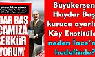 Kurultay tiyatrosu meğer İnce'yi CHP'nin Cumhurbaşkanı (Başkan) adayı yapabilmek için tezgahlanmış, ama kimse yemedi!