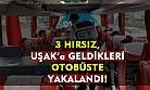 Manisa'da hırsızlık yapan 3 kişi, Uşak'ta yakalandı!