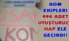Melek Figürlü Uyuşturucu Haplar, Uşak Polisine Takıldı!