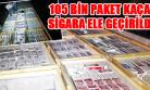 Mermer Bloklar Arasında Sigara Sevkiyatı Polise Yakalandı!