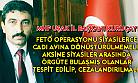 MHP İl Başkanı; insanları yaftalamak yerine gerçek paralelcileri ortaya çıkarmak gerekir!