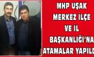MHP Uşak İl Başkanlığı'na Muhterem Kuruçay Atandı!