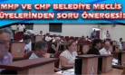 MHP ve CHP, İmar Müdürlüğü Personelleri ve SSK Evleri İle İlgili Soru Önergesi Verdi!
