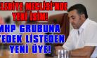 MHP'li Eski Meclis Üyesi, Yeniden Belediye Meclisi'nde!
