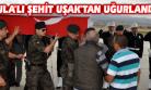 Şehit Polis Memuru Erbay'ın Cenazesi Memleketi Kula'ya, Uşak'tan Uğurlandı!