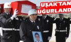 Şehit Polis Memuru Uyar'ın Cenazesi Memleketi Salihli'ye, Uşak'tan Uğurlandı!