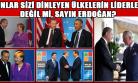 Türkiye'yi Dinleyen Ülkelerin Başkanları İle Erdoğan'ın Samimi Pozları Dudak Büktürttü!
