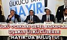 Ülkü Ocakları Genel Başkanları Uşak'tan, Tekiye değil Türkiye olarak yaşamak için HAYIR diyoruz diye haykırdı