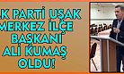 Uşak Ak Parti'nin yeni Merkez İlçe Başkanı belli oldu!