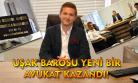 Uşak Barosu yeni bir avukat kazandı!