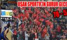 Uşak Sportif Minsk'i Devirdi, Uşaklılar Bayram Yaptı!