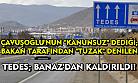 Uşak'a da kurulmak istenen TEDES, Banaz'dan da kaldırıldı!