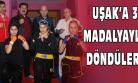 Uşak'ın Bayan Kartalları Şampiyonada Derece Yaptı!