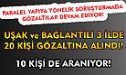 Uşak'ın da içinde bulunduğu 4 ilde 20 kişi gözaltına alındı!