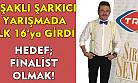 Uşaklı şarkıcı bu kez de TRT'de!