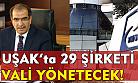Uşak'ta 29 şirkete Vali Demir kayyum olarak atandı!