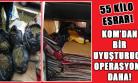 Uşak'ta Battaniye ve Kilim Arasında 55 Kilo Esrar Yakalandı!