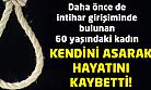 Uşak'ta bir kadın intihar ederek hayatına son verdi!