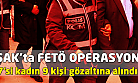 Uşak'ta FETÖ operasyonu! 9 gözaltı!