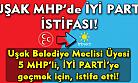 Uşak'ta meclis üyesi 5 MHP'li, partisinden istifa etti!
