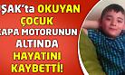 Uşak'ta okuyan çocuk, köydeki kazada hayatını kaybetti!