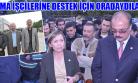 Uşak'taki Siyasi Parti ve STK'lardan Soma İşçilerine Destek!