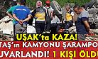 UTAŞ'ın kamyonu kaza yaptı, şoförü hayatını kaybetti!