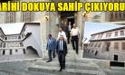 Vali Yavuz, Tarihi Evlerde İncelemelerde Bulundu!