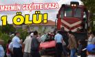 Yolcu Treninin Çarptığı Otomobil Sürücüsü Hayatını Kaybetti!
