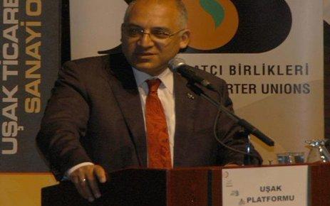 TİM Başkanı Mehmet Büyükekşi Uşak ta İdi.