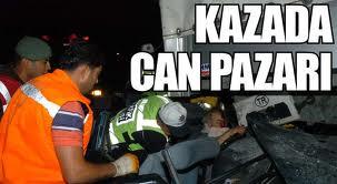 Turgutlu'da TIR ile Otomobil Kafa Kafaya Çarpıştı. Kazada, Otomobildeki 3 Kişi Öldü