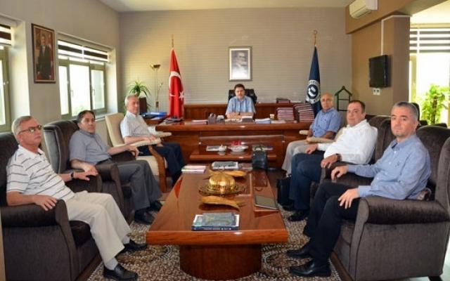 UDAŞ'tan Rektör Çelik'e Ziyaret