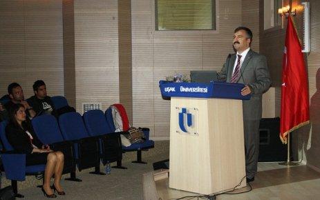 Ulusal Siyaset Bilimi ve Kamu Yönetimi Kongresi Uşak Üniversitesi'nde Gerçekleşiyor