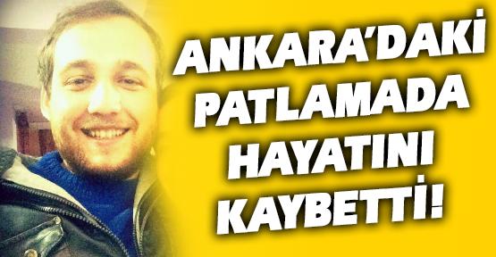 Üniversiteli Genç Gökhan, Ankara'daki Patlamada Hayatını Kaybetti!