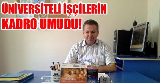 Üniversiteli İşçiler: Başbakan Erdoğan'ın Talimatı Yerine Getirilsin!