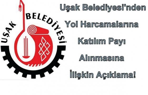 Uşak Belediyesi'nden CHP'ye Cevap Niteliğinde Bir Açıklama!