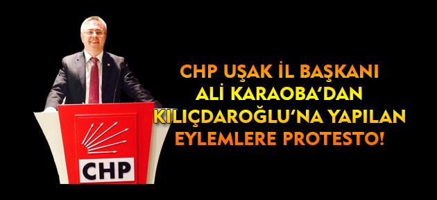 Uşak CHP'den Kılıçdaroğlu'na yapılan prostetolara tepki geldi!