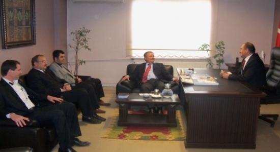 Uşak Defterdarı Abdullah Kırım TÜMSİAD'ı Ziyaret Etti!