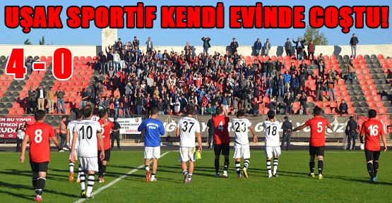 Uşak Derbisinde Kazanan Uşak Sportif Oldu!