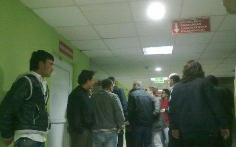 Uşak Devlet Hastanesi'nde Güvenlikle Hasta Yakınları Arasında Arbede Yaşandı