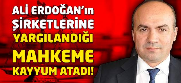 Uşak eski belediye başkanı Ali Erdoğan'ın şirketine kayyum atandı!