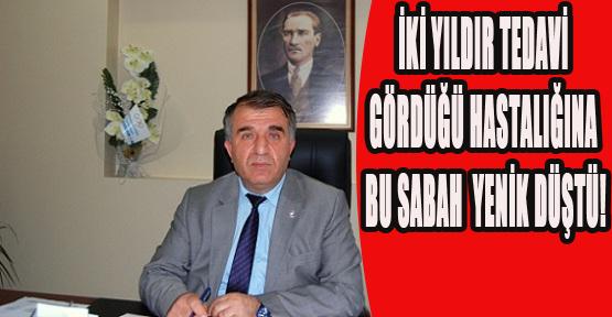 Uşak Gençlik Ve Spor İl Müdürü Mehmet Kabay Vefat Etti!
