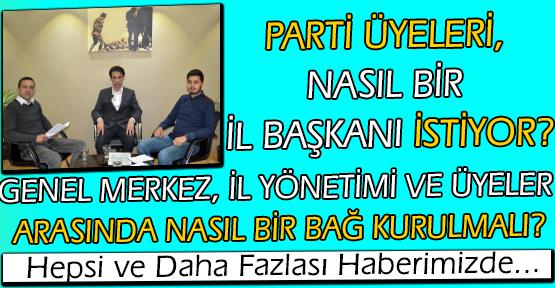 Uşak Halkına, Nasıl Bir İl Başkanı İstediğini Sorduk; Anket Sonuçlarını Gazeteci Çavuşoğlu İle Değerlendirdik!