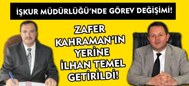 Uşak İşkur'da Kahraman müdürlük görevinden alındı, yerine İlhan Temel atandı!